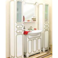 Мебель для ванной Sanflor Каир 75 белая, золотая
