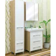 Мебель для ванной Sanflor Ларго 70 вяз, белая