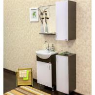 Мебель для ванной Sanflor Мокко 45 венге, белая L