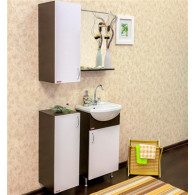 Мебель для ванной Sanflor Мокко 45 венге, белая R