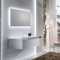 Мебель для ванной Sanvit Кубэ-1 100 белый глянец