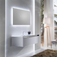 Мебель для ванной Sanvit Кубэ-1 75 белый глянец