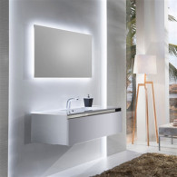 Мебель для ванной Sanvit Кубэ-1 90 белый глянец
