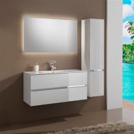 Мебель для ванной Sanvit Кубэ-2 75 белый глянец