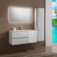 Мебель для ванной Sanvit Кубэ-2 90 белый глянец