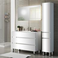 Мебель для ванной Sanvit Кубэ-3 100 белый глянец