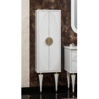 Пенал-шкаф Opadiris Ибица белый, фурнитура золото Z0000013865