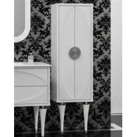 Пенал-шкаф Opadiris Ибица белый, фурнитура хром Z0000013932