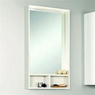 Зеркало для ванной Акватон Йорк 50 белый/выбеленное дерево 1A170002YOAY0