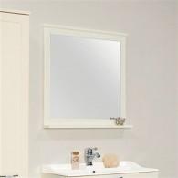 Зеркало для ванной Акватон Леон 80 дуб белый 1A186402LBPS0