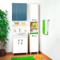 Мебель для ванной Бриклаер Аргентина 65 светлая лиственница