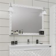 Зеркало СанТа Калипсо 80 со светильниками 117003