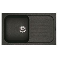 Мойка из мрамора Florentina Арона 860 черный 20.225.D0860.102