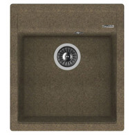 Мойка из мрамора Florentina Липси 460 коричневый 20.280.B0460.105