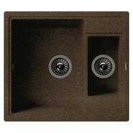 Мойка из мрамора Florentina Липси 580К коричневый 20.210.D0580.105