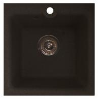 Мойка из мрамора GranFest Practic GF-P420 черный