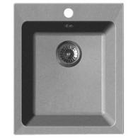 Мойка из мрамора GranFest Practic GF-P505 серый