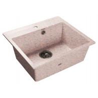 Мойка из мрамора GranFest Quadro GF-Q560 светло-розовый