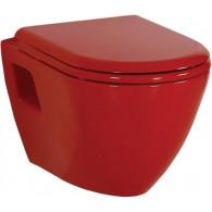 Унитаз Creavit Single TP325 красный