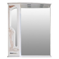 Зеркало-шкаф Атолл Барселона 175 белый с медью
