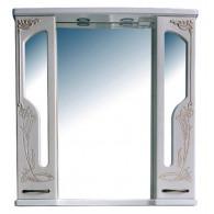 Зеркало-шкаф Атолл Барселона 195 белый с медью