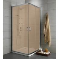 Душевой уголок Radaway Premium Plus C 80x190 коричневое 30463-01-08N