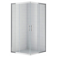 Душевой уголок Cezares Eco A-2-90-C-Cr стекло прозрачное