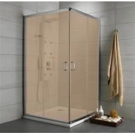 Душевой уголок Radaway Premium Plus C 100x190 коричневое 30443-01-08N