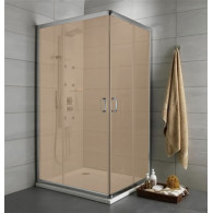 Душевой уголок Radaway Premium Plus D 80x100x190 коричневое 30434-01-08N