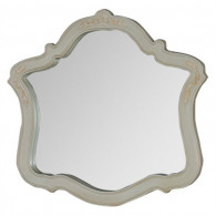 Зеркало Demax Флоренция белый перламутр 171637