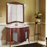 Мебель для ванной Demax Версаль 110 сerezo витраж
