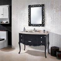 Мебель для ванной Demax Престиж 115 черная