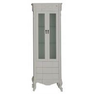Пенал-шкаф Demax Луизиана blanco 173026