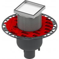 Душевой трап TECE TECEdrainpoint S 360 16 00 DN 50 под плитку, вертикальный
