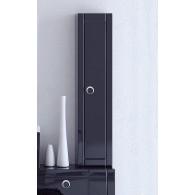 Пенал-шкаф Aqwella Инфинити П35 подвесной черный