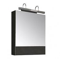 Зеркало-шкаф Aquanet Нота 50 камерино венге