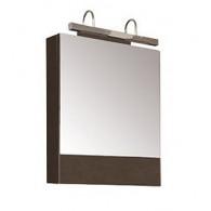 Зеркало-шкаф Aquanet Нота 58 камерино венге