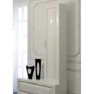 Пенал-шкаф Aqwella Империя П35 подвесной белый глянец
