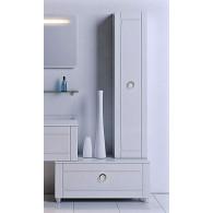 Пенал-шкаф Aqwella Инфинити П35 подвесной белый