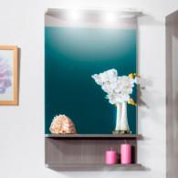 Зеркало для ванной Бриклаер Чили/Куба 55 серая лиственница