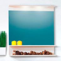 Зеркало для ванной Бриклаер Чили 80 светлая лиственница