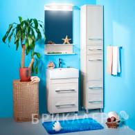 Мебель для ванной Бриклаер Чили 55 светлая лиственница