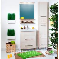 Мебель для ванной Бриклаер Чили 60 светлая лиственница