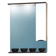 Зеркало-шкаф Бриклаер Токио 70 R