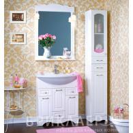 Мебель для ванной Бриклаер Анна 75 белая ольха