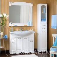 Мебель для ванной Бриклаер Анна 100 белая ольха