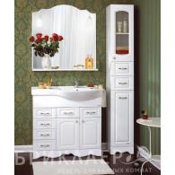 Мебель для ванной Бриклаер Анна 90 белая L