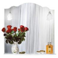 Зеркало для ванной Бриклаер Анна 90 белое