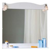 Зеркало для ванной Бриклаер Анна 100 белая ольха