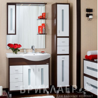Мебель для ванной Бриклаер Бали 90 L